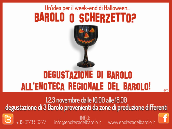 Halloween… Barolo o Scherzetto?Halloween… Barolo or Trick?