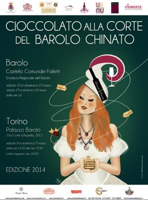 """""""CIOCCOLATO ALLA CORTE DEL BAROLO CHINATO 2014″""""CIOCCOLATO ALLA CORTE DEL BAROLO CHINATO 2014″"""