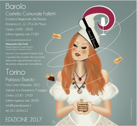 CIOCCOLATO ALLA CORTE DEL BAROLO CHINATO 2017