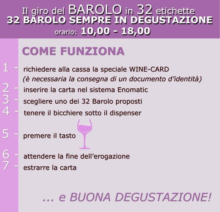 Il giro del Barolo in 32 etichetteAround Barolo in 32 labels
