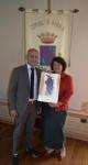Il Presidente Federico Scarzello & Monica Larner